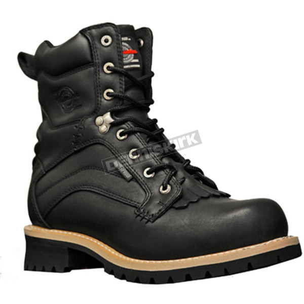 Milwaukee Motorcycle Clothing Co. Mens Drysdale Waterproof Boots - MB40620