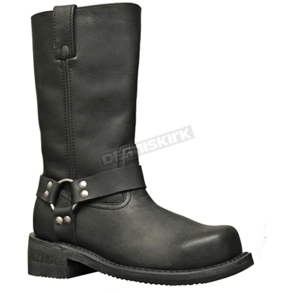 Milwaukee Motorcycle Clothing Co. Mens Barron Steel Toe Harness Boots - EE Width - MB41338