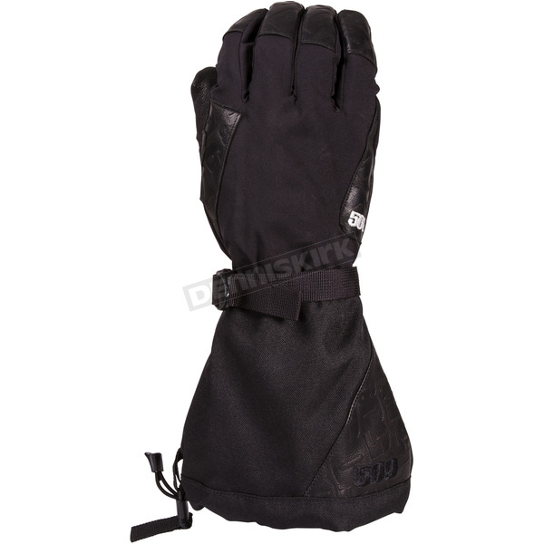 509 Black Backcountry Gloves - 509-GLOBAC-13-2X
