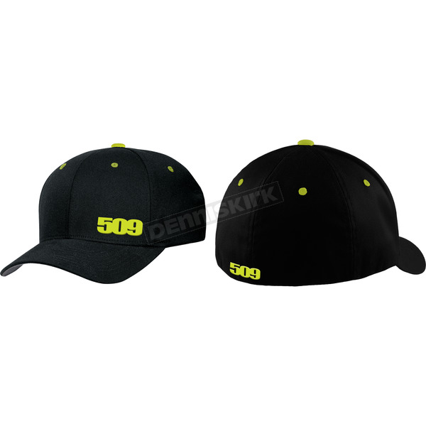 509 Black Lime Flex-Fit Hat - 509-HAT-LIM-LX