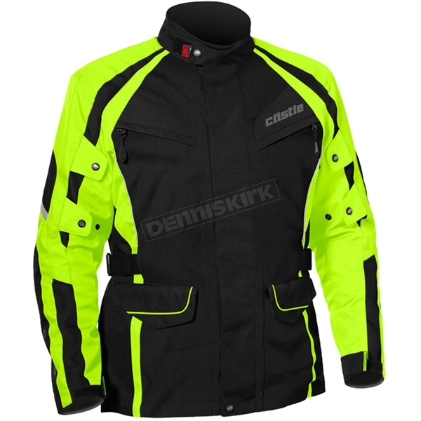 Castle X Hi-Vis/Black Mission Air Jacket - 17-1632