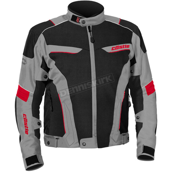 Castle X Gray/Red Max Air Jacket - 17-1518