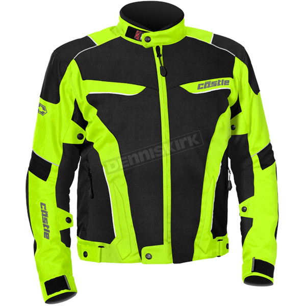 Castle X Hi-Viz/Black Max Air Jacket - 17-1538