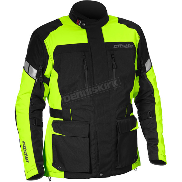 Castle X Hi-Vis/Black Distance Jacket - 17-1736