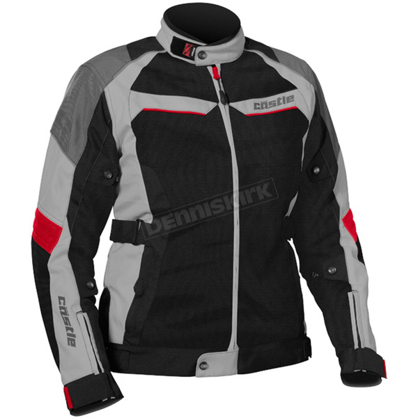 Castle X Women's Gray/Red Passion Air Jacket - 17-1812