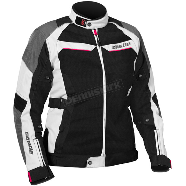Castle X Women's White/Hot Pink Passion Air Jacket - 17-1896