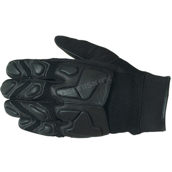 Castle X Black Sport Mesh Gloves - 20-4016