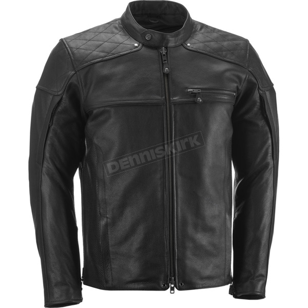 Highway 21 Black Gasser Jacket - 489-1010M
