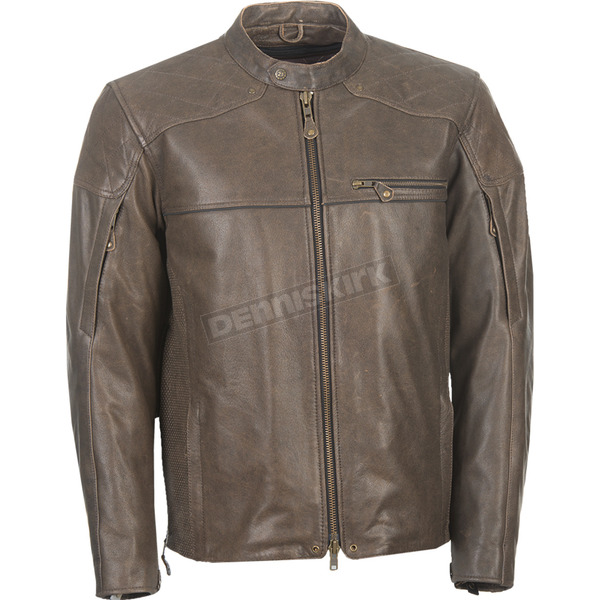 Highway 21 Brown Gasser Jacket - 489-1011M