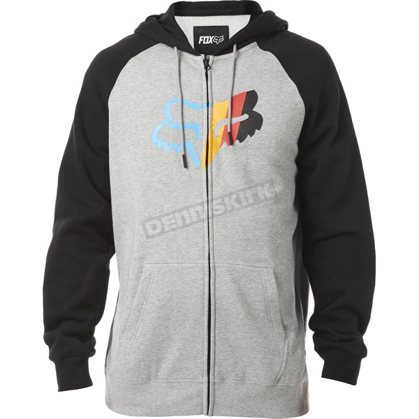 Fox With A Win Zip Hoody - 18264-040-L