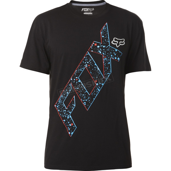 Fox Black War Path Tech T-Shirt - 18279-001-M