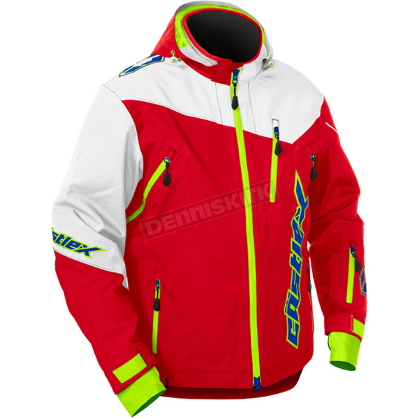 Castle X Red/White Rival Jacket - 70-6019T