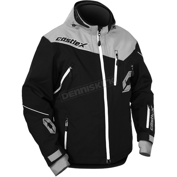Castle X Gray/Black Rival Jacket - 70-6079T
