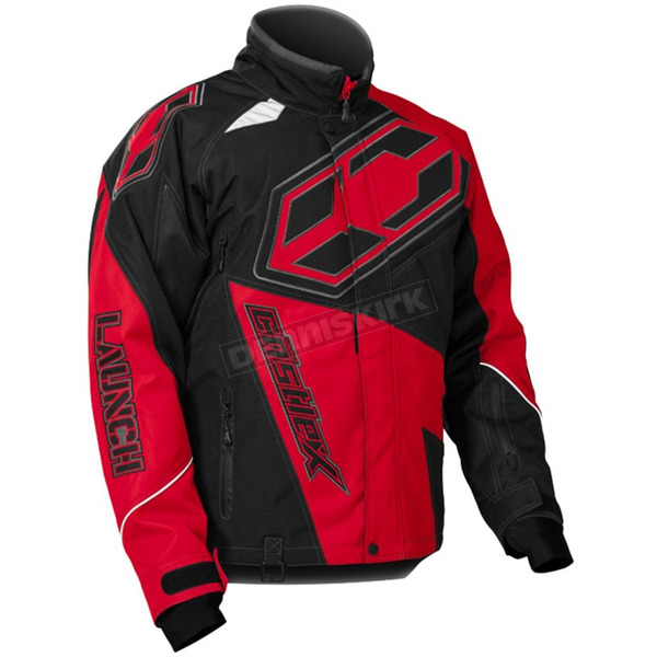 Castle X Red/Black Launch G4 Jacket - 70-5416