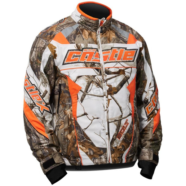 Castle X Realtree AP Snow Orange Bolt G4 Jacket - 70-5786