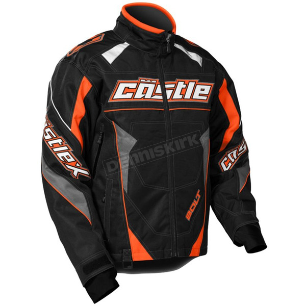 Castle X Orange/Black Bolt G4 Jacket - 70-5658
