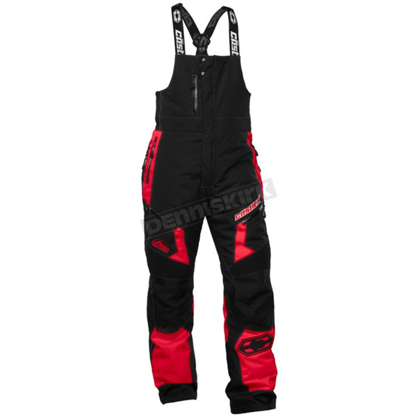 Castle X Red/Black Tundra Bibs - 73-1019