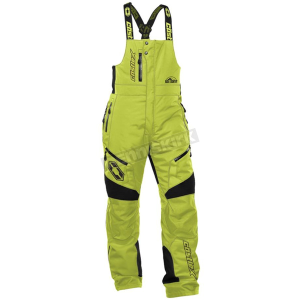 Castle X Solid Lime Tundra Bibs - 73-1242