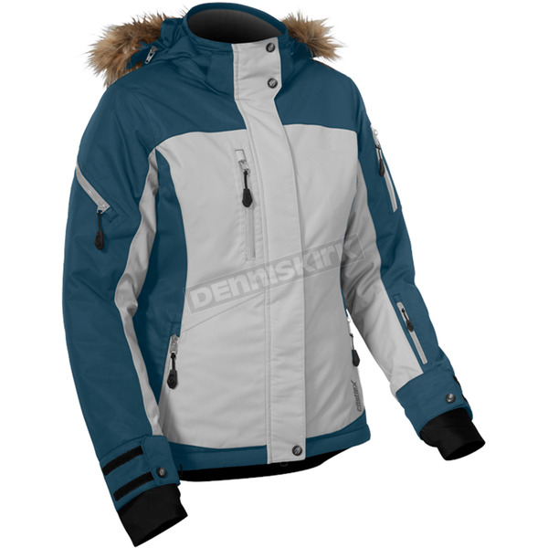 Castle X Women's Bay Blue/Gray Tempest Jacket - 71-1629