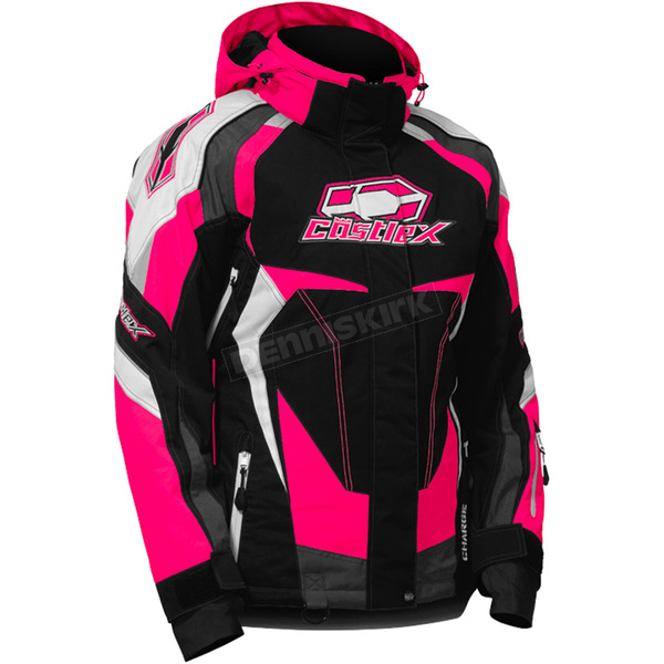 Castle X Women's Hot Pink Charge G3 Jacket - 71-0921
