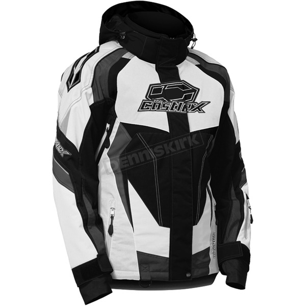 Castle X Women's White/Black Charge G3 Jacket - 71-0996