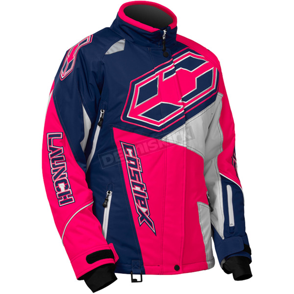 Castle X Women's Navy/Hot Pink Launch SE G4 Jacket - 71-1129