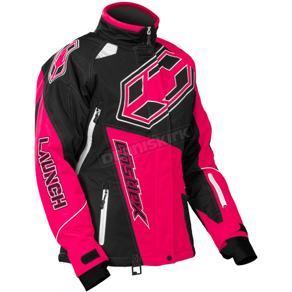 Castle X Women's Hot Pink Launch G4 Jacket - 71-1028