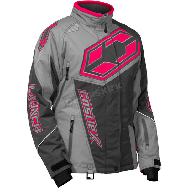 Castle X Women's Gray/Hot Pink Launch SE G4 Jacket - 71-1161