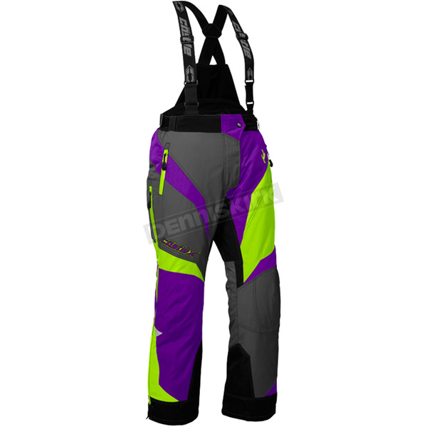 Castle X Women's Grape/Hi-Vis Fuel SE G6 Pants - 73-7631