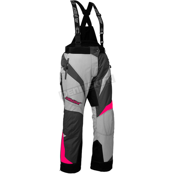 Castle X Women's Gray/Hot Pink Fuel SE G6 Pants - 73-7661