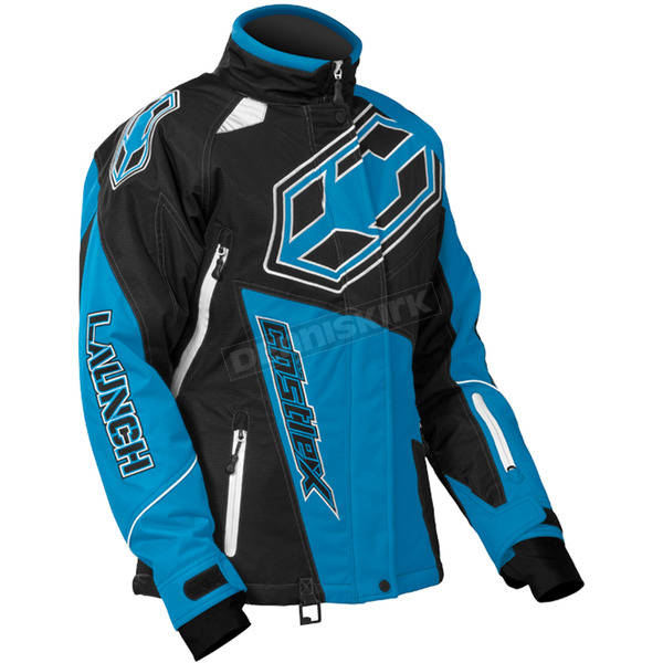 Castle X Women's Reflex Blue Launch G4 Jacket - 71-1058