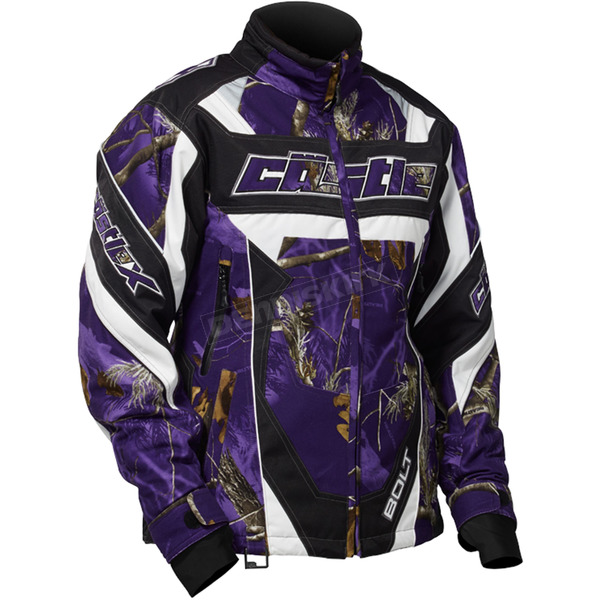Castle X Women's Realtree AP Purple Bolt G4 Jacket - 71-1476