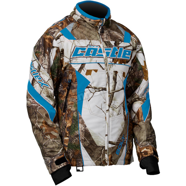Castle X Women's Realtree/Reflex Blue Bolt G4 Jacket - 71-1554