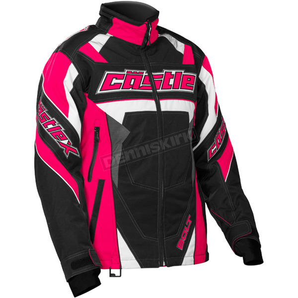 Castle X Women's Hot Pink/Black Bolt G4 Jacket - 71-1321