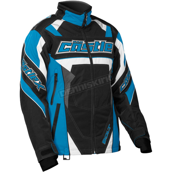 Castle X Women's Reflex Blue/Black Bolt G4 Jacket - 71-1354