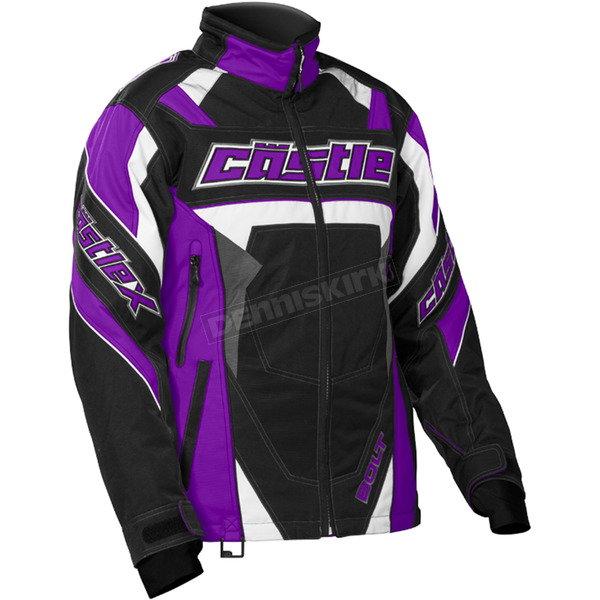 Castle X Women's Grape/Black Bolt G4 Jacket - 71-1386