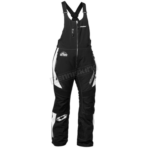 Castle X Women's White/Black Tundra Bibs - 73-1199