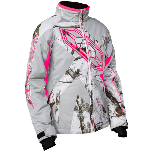 Castle X Youth Realtree AP Snow/Hot Pink Launch G3 Jacket - 72-4792