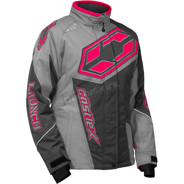 Castle X Youth Gray/Hot Pink Launch SE G4 Jacket - 72-5564
