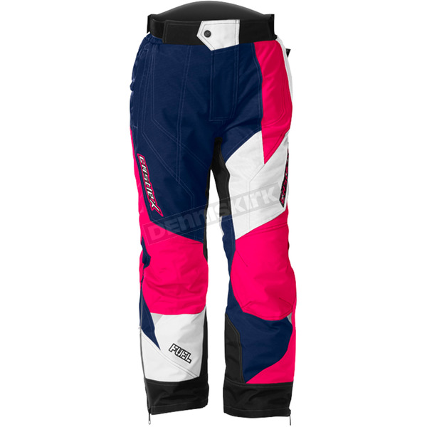 Castle X Youth Navy/Hot Pink Fuel SE G6 Pants - 73-6824