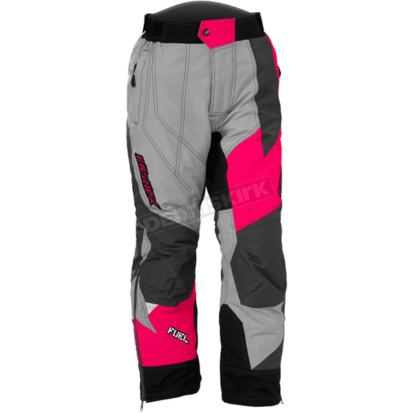Castle X Youth Gray/Hot Pink Fuel SE G6 Pants - 73-6862