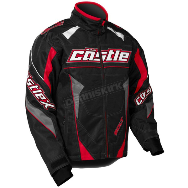 Castle X Youth Red/Black Bolt G4 Jacket - 72-5711