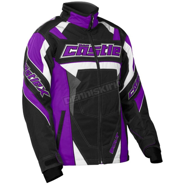 Castle X Youth Grape/Black Bolt G4 Jacket - 72-5984