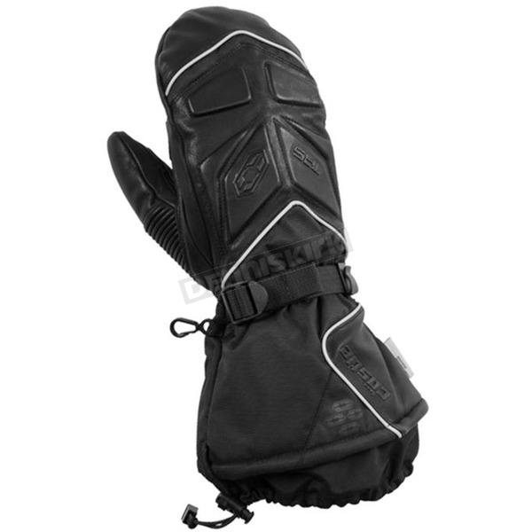 Castle X Women's Black TRS Mitts - 74-4878