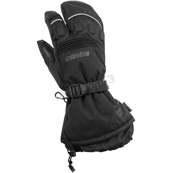 Castle X Black Platform 3-Finger Mitts - 74-4372