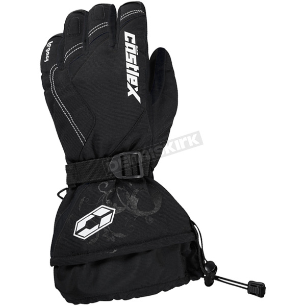 Castle X Women's Black Legacy Gloves - 74-5379