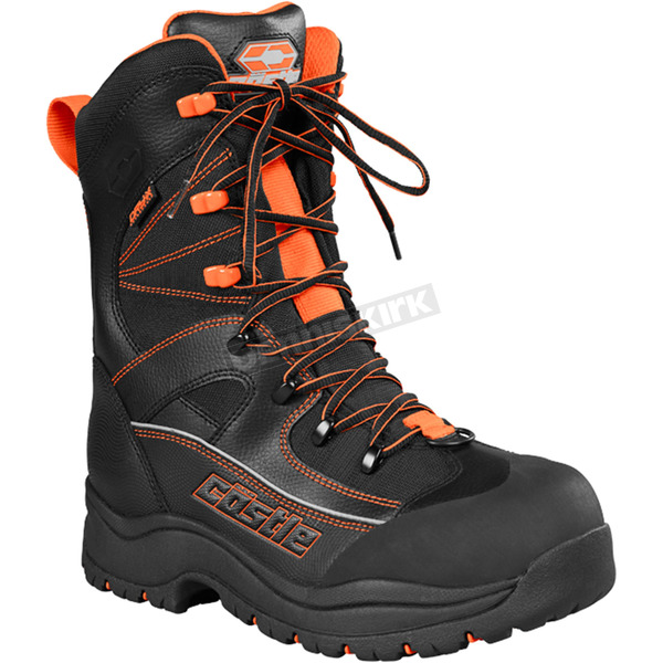 Castle X Orange/Black Force 2 Boots - 84-2009