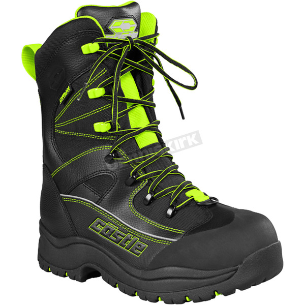 Castle X Hi-Vis/Black Force 2 Boots - 84-2030