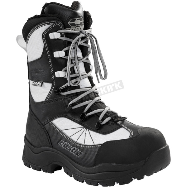 Castle X Women's White/Black Force 2 Boots - 84-2306