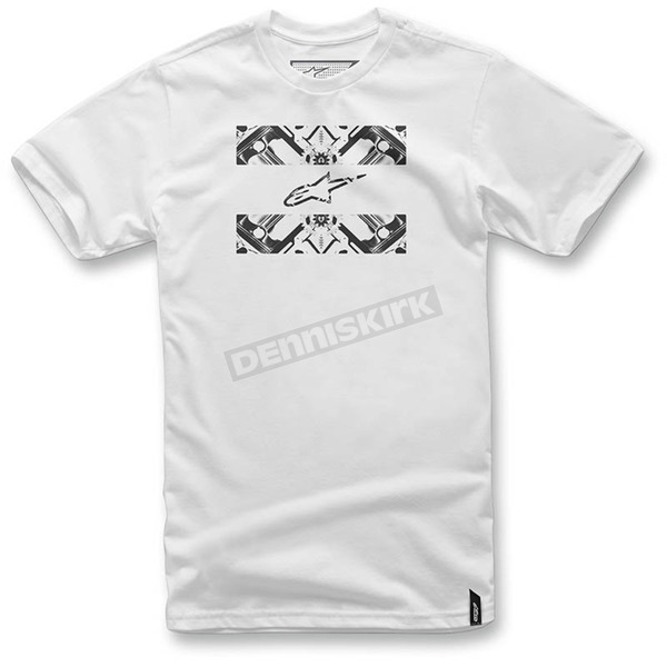 Alpinestars White Section 2 T-Shirt  - 103672013-20M